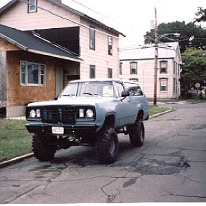 78 Plymouth Trailduster (old toy)