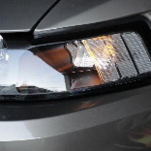 Head light with LED Ambers