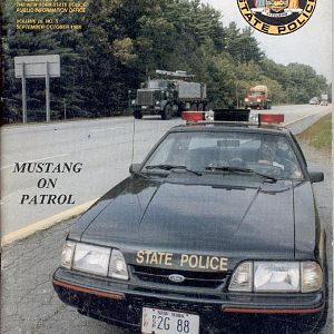 NYSP Trooper mag cover October 1988