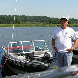 ME AND MY FISHING BOAT