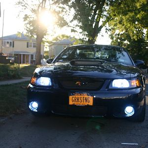 New HID for Headlights and Fog installed.