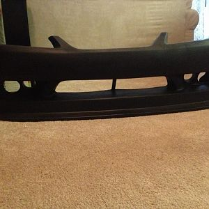 i have been living with this bumper its almost time for install...i got polyurethane instead of duraflex