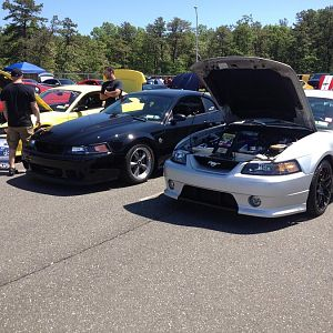 bolt on warrior vortech supercharged and a time capsuled saleen