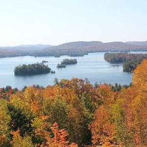 Blue Mtn Lake from the Adirondack Museum