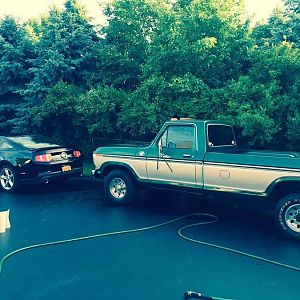 1978 Ford F-350 Trailer Special
