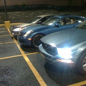 Probably gonna ask who's driving my intrepid while I drive my mustang. the answer is my bro