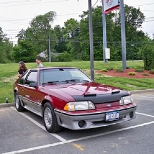 My son's 1988 - took 1st Prize Trophy at MCOC Spring Round Up at Healey Ford in Goshen