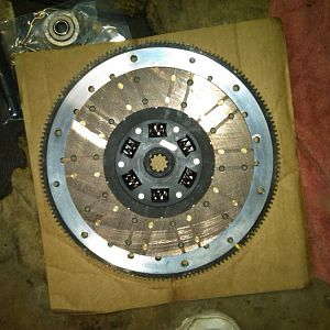 spec 3+ and the billet flywheel
