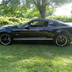 STOCK 0457 2007 Ford SHELBY GT MUSTANG 022