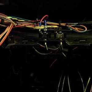 12/23/17 Modifying the wiring of the dash e-brake warning