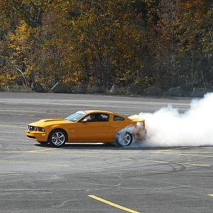 another mean burnout from the cruse
